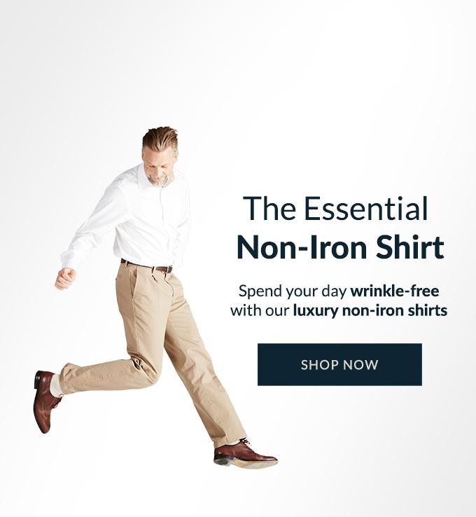 SHOP MENS NON-IRON SHIRTS